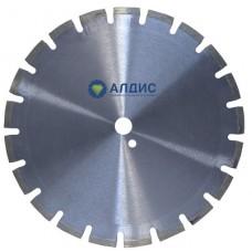Алмазный диск по железобетону 350 мм  с лазерной наваркой сегментов