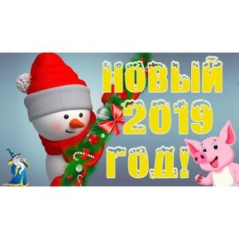 C новым 2019 годом!
